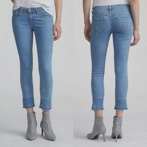 Rag & Bone Ankle Skinny Light Wash Jeans 27